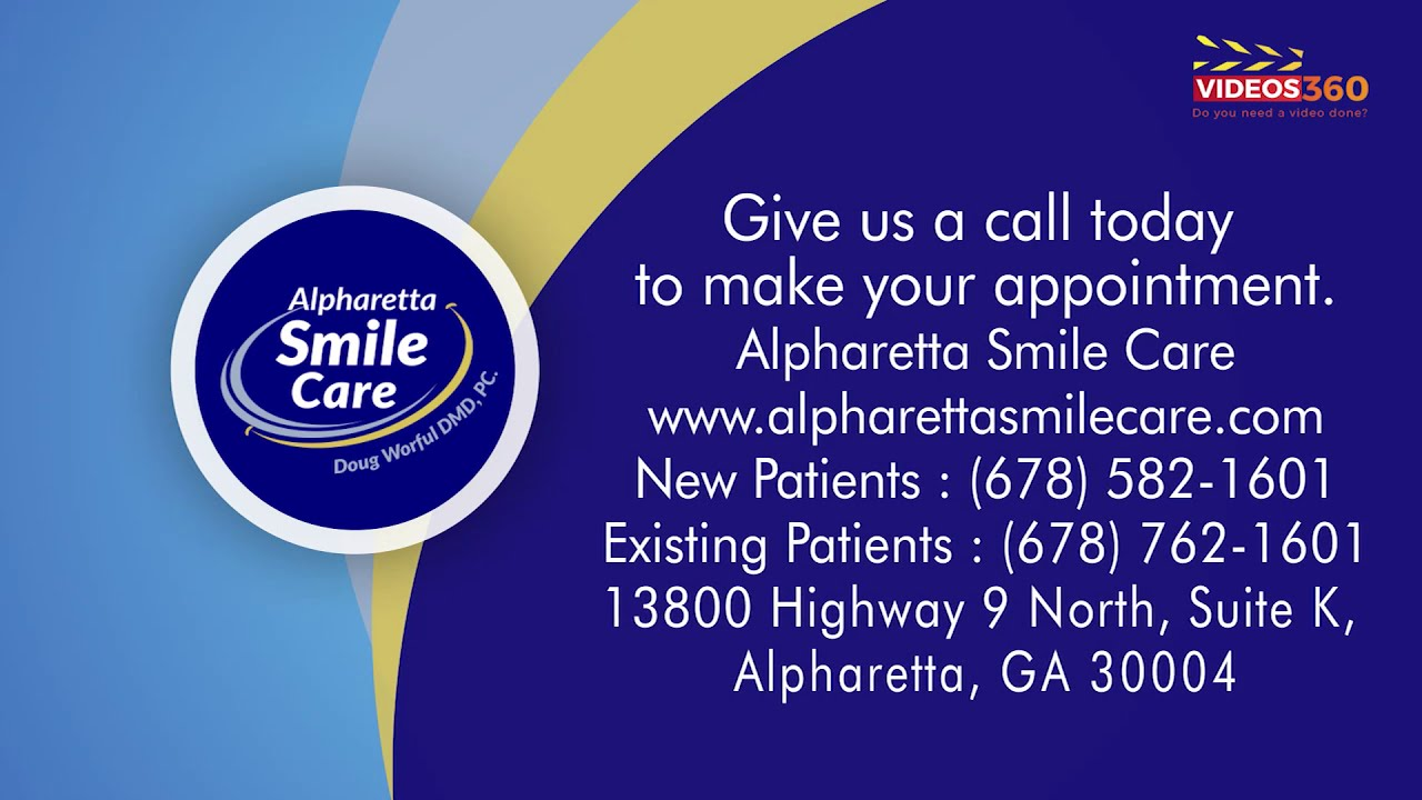 Contact Alpharetta Smile Care for personalized, comprehensive dental care