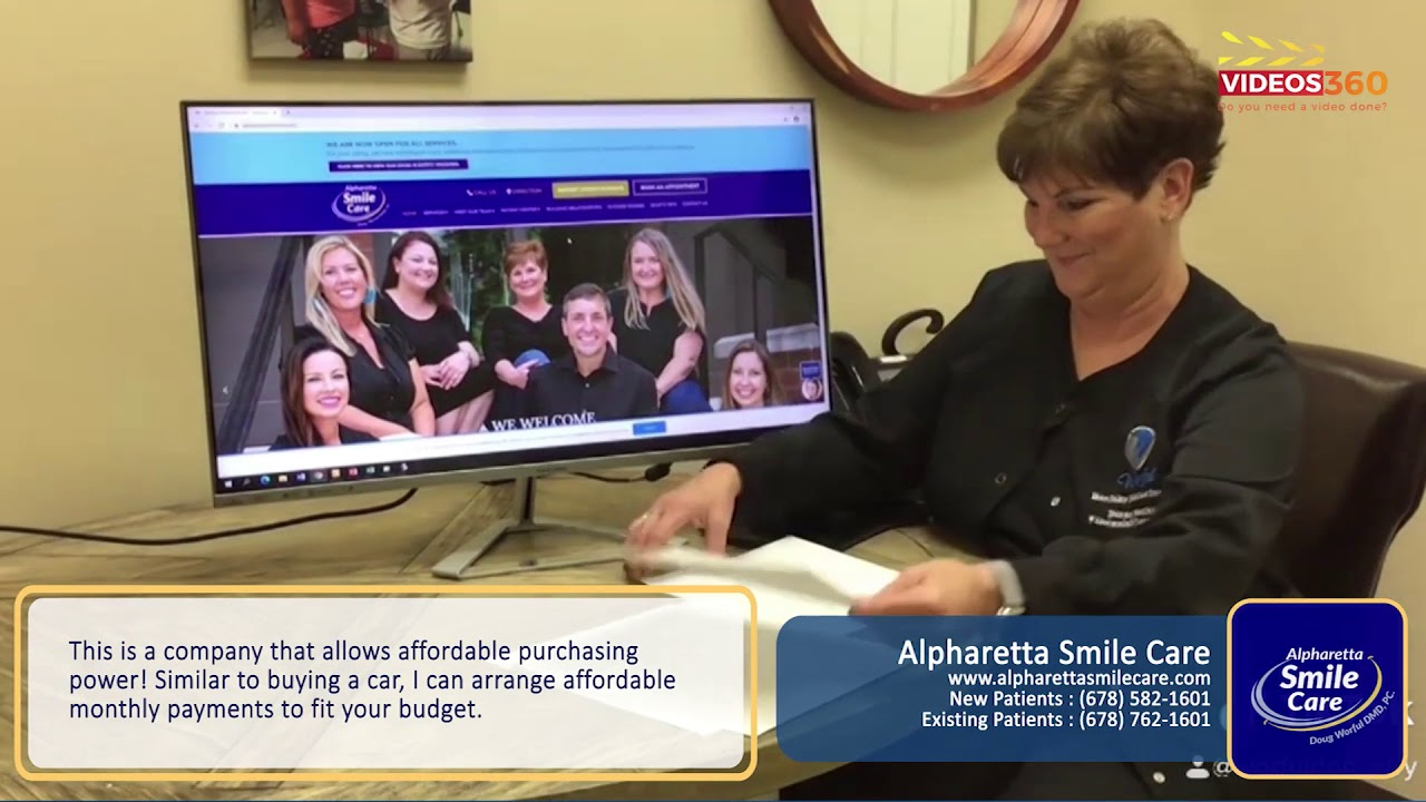Dental financing options available at Alpharetta Smile Care