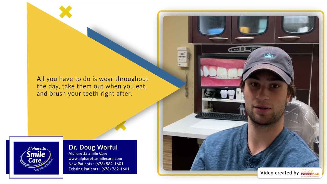 Patient Testimonial on Invisalign at Alpharetta Smile Care - Dr. Doug Worful